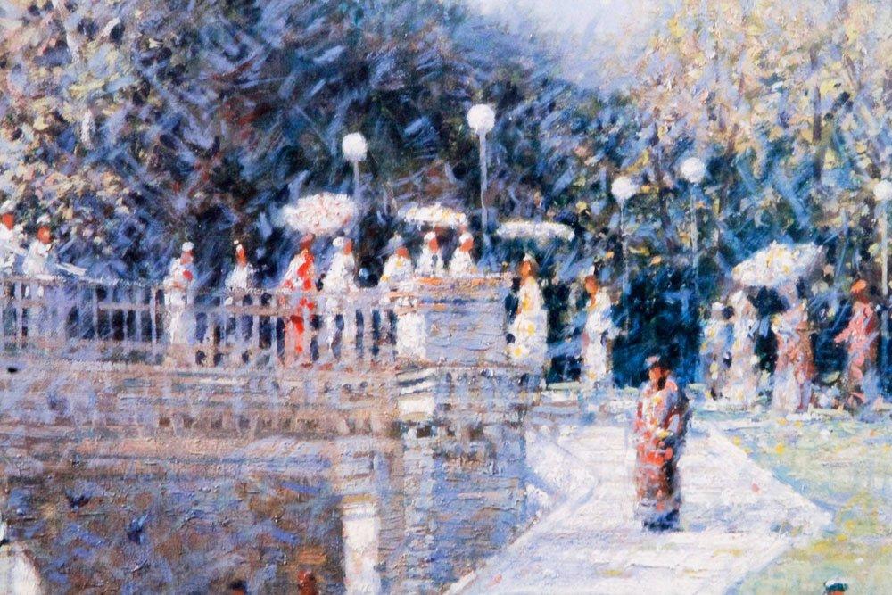 Terelak, Boston Public Gardens, Print - 3