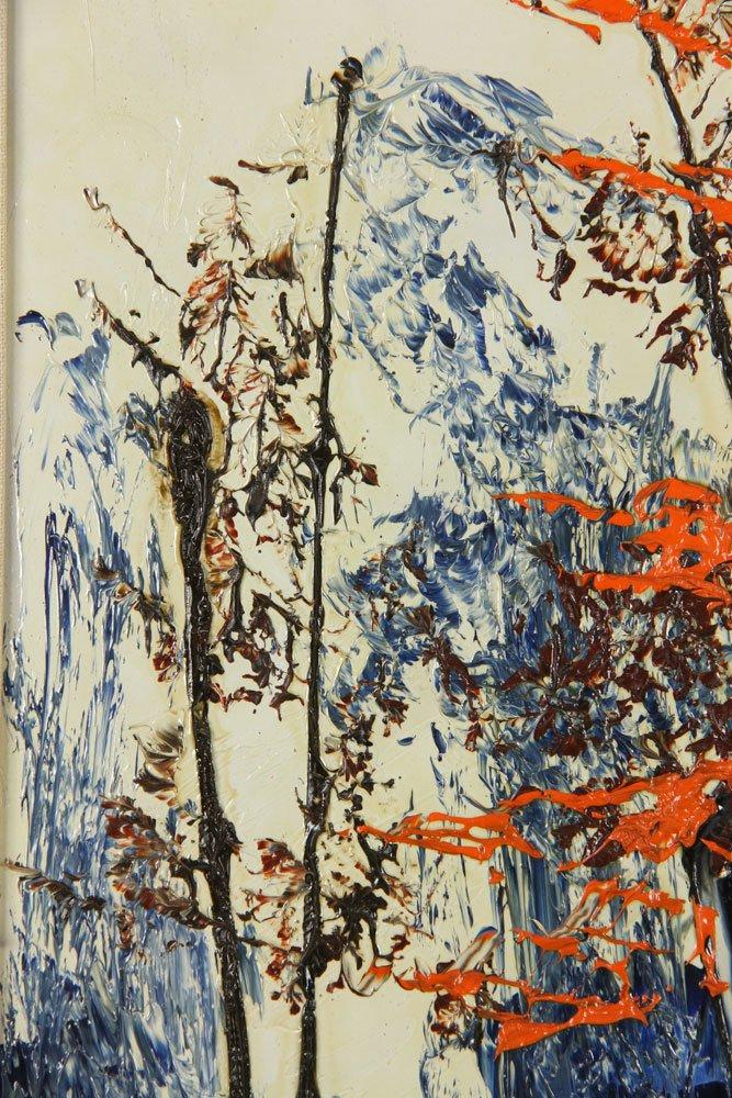 Katz, Landscape, Oil on Masonite - 3