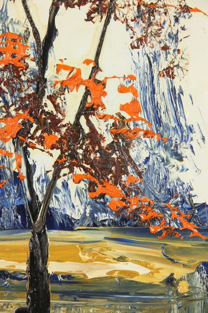 Katz, Landscape, Oil on Masonite - 4