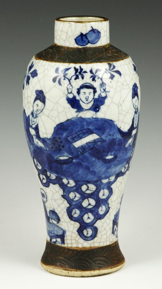 19th C. Chinese Blue and White Vase