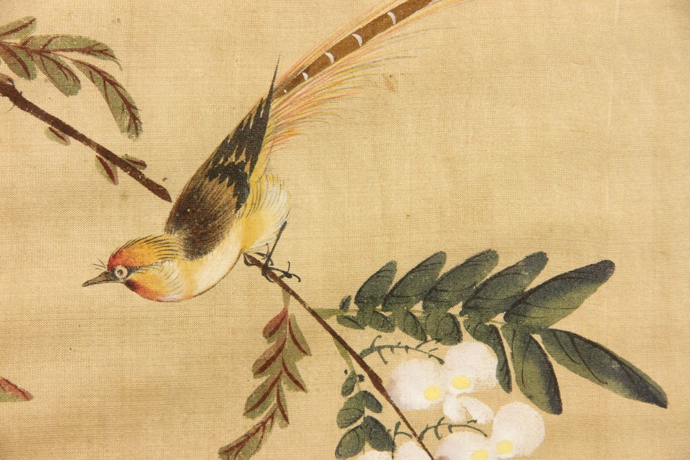 Chinese Watercolor on Silk - 3