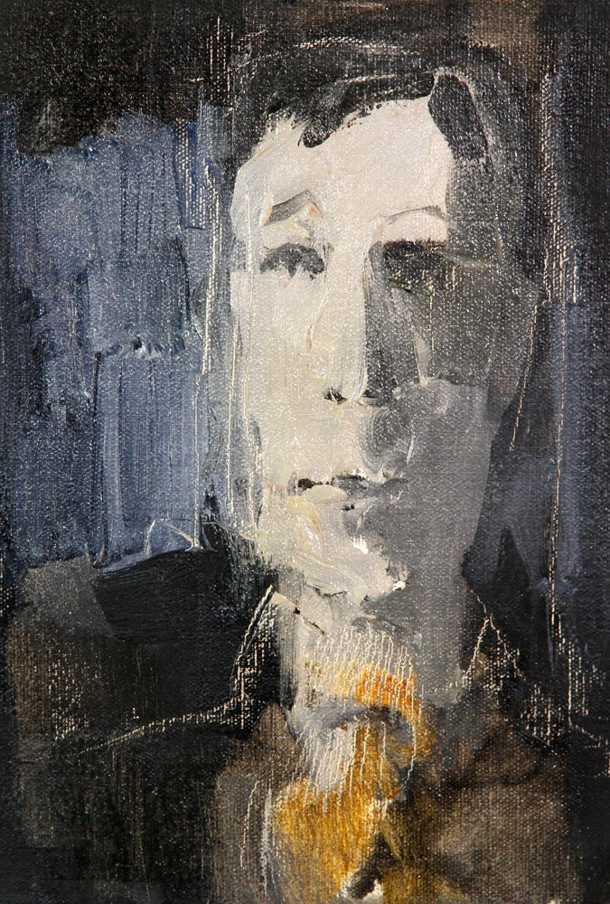 Jeswald, 7 Portraits, Oil on Board - 4
