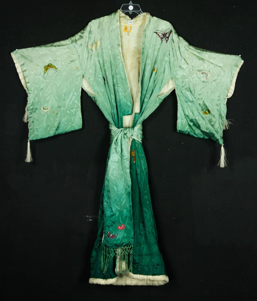 Japanese Embroidered Robe