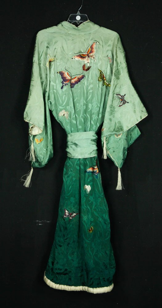 Japanese Embroidered Robe - 3
