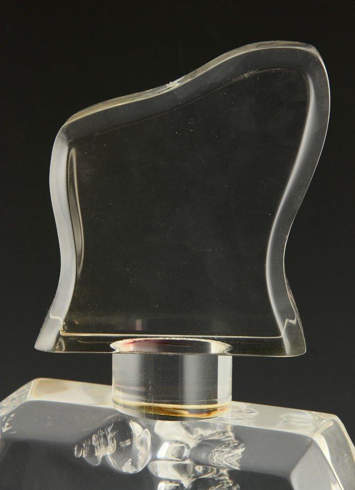 Lucite Sculpture of a Bottle - 4