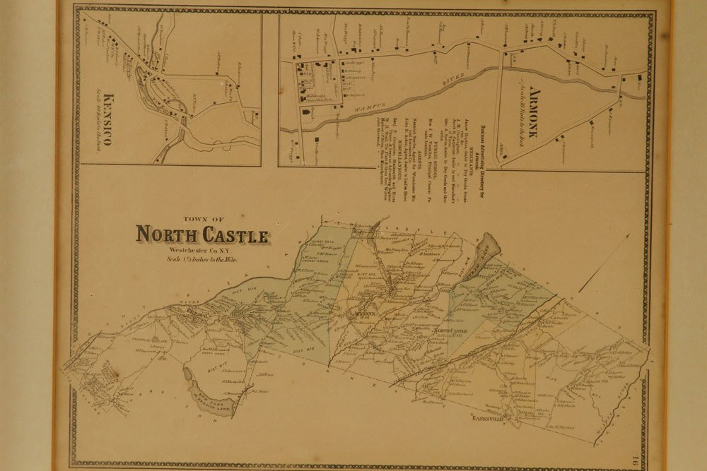 Six Westchester County Maps - 6