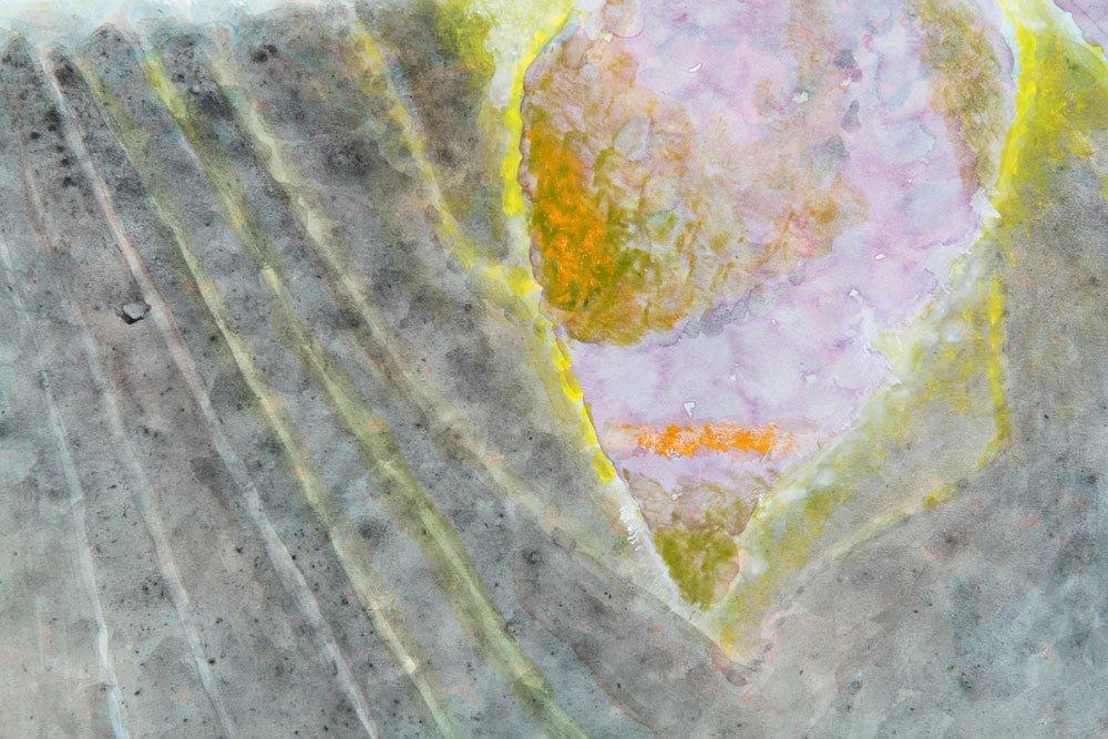 Abstract Iris, Watercolor - 3