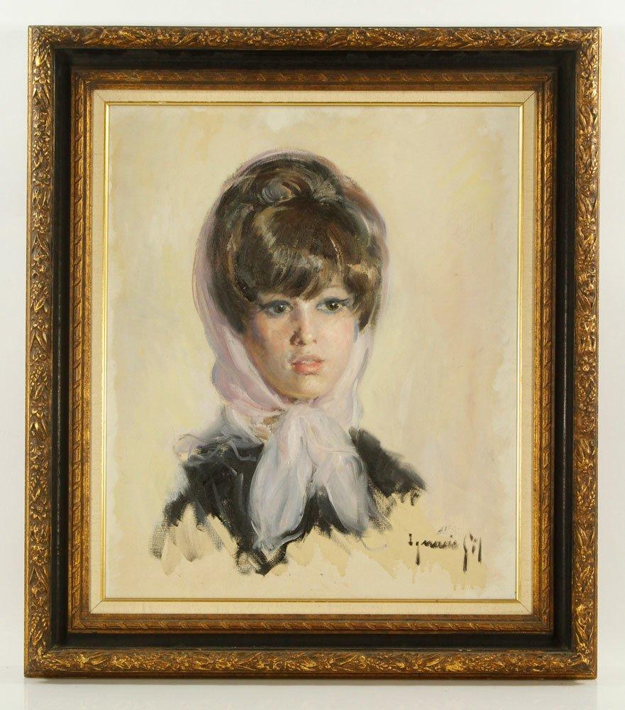 Gil y Sala, Portrait, Oil on Canvas