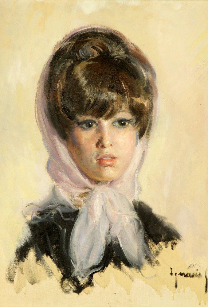 Gil y Sala, Portrait, Oil on Canvas - 2