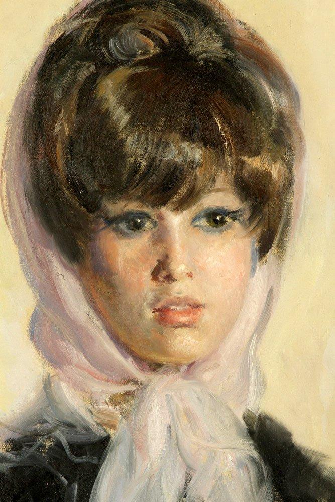 Gil y Sala, Portrait, Oil on Canvas - 3
