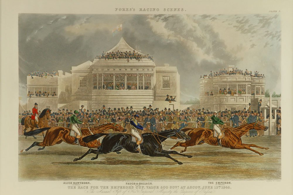 """After Herring, """"The Race for the Emperor's Cup,"""" - 2"""