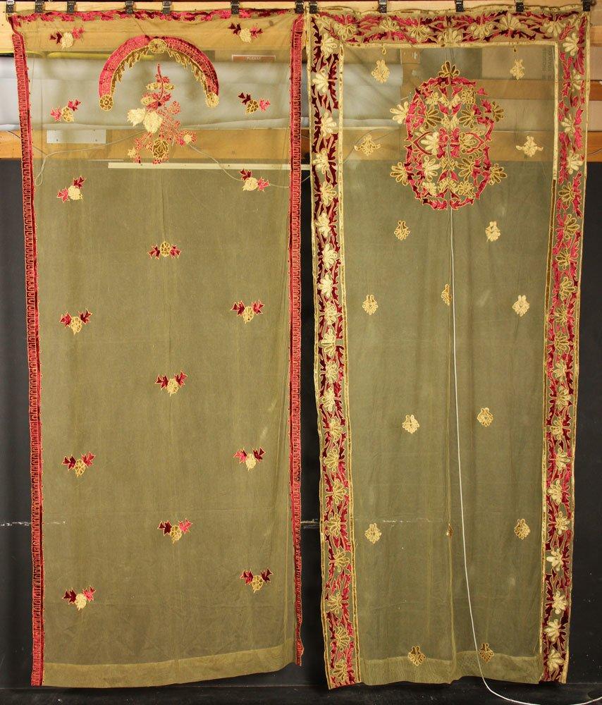 4 Curtain Panels