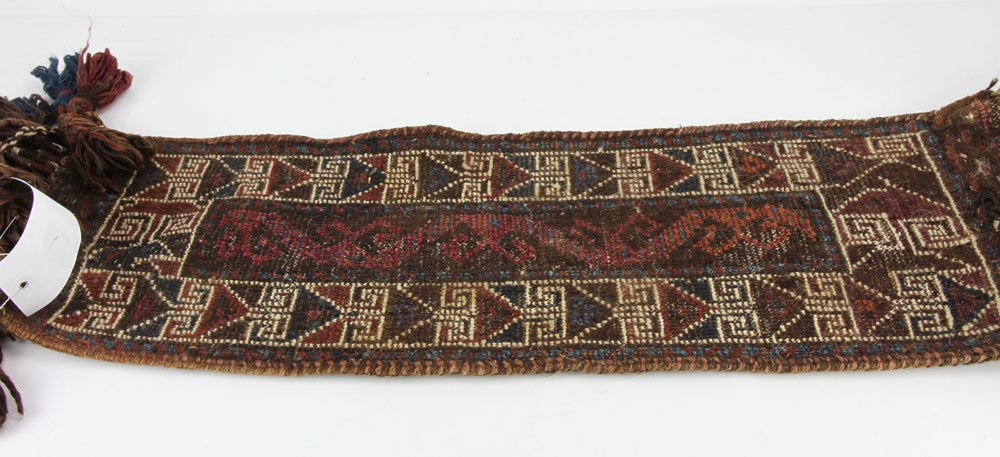Afghan Saddle Carpet - 4