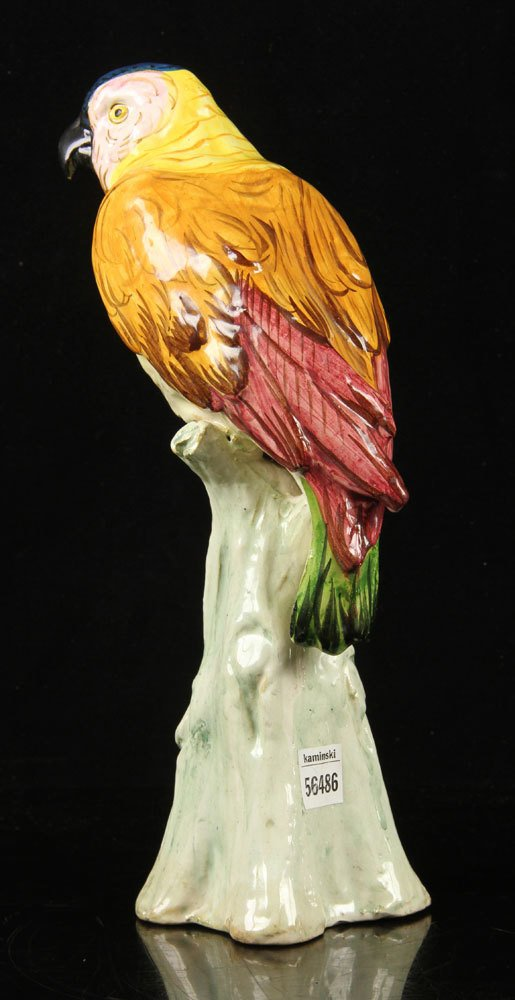 Italian Pottery Parrot - 2