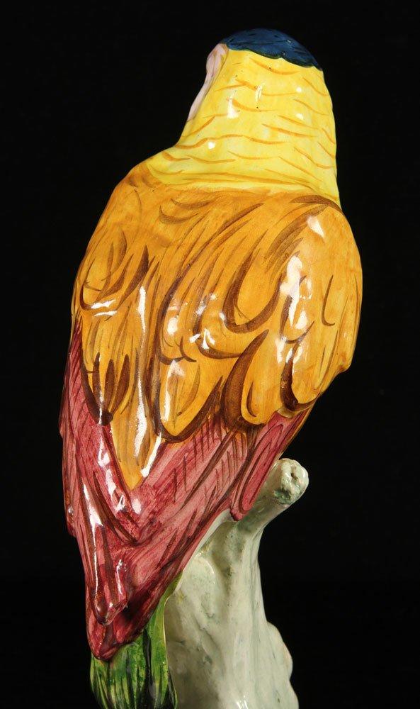 Italian Pottery Parrot - 4