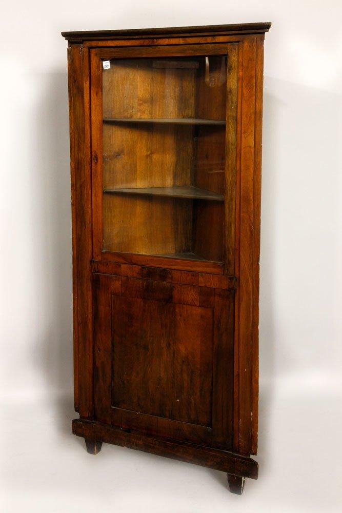 19th C. Italian Fruitwood Cabinet
