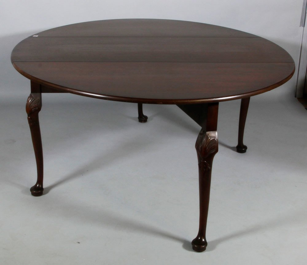 Kittinger Queen Anne Style Dining Table - 2