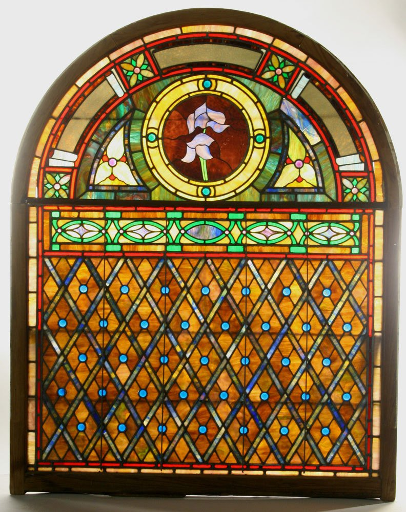 Monumental Stained Glass Window