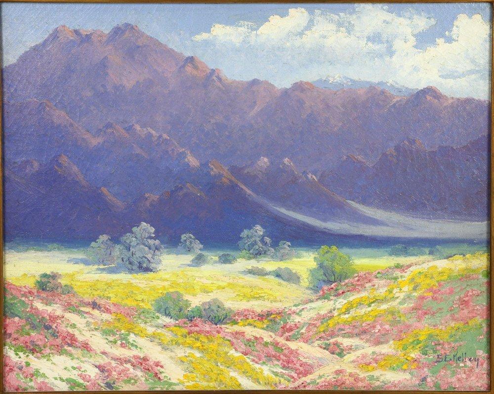 Californian Landscape, Oil on Canvas - 3