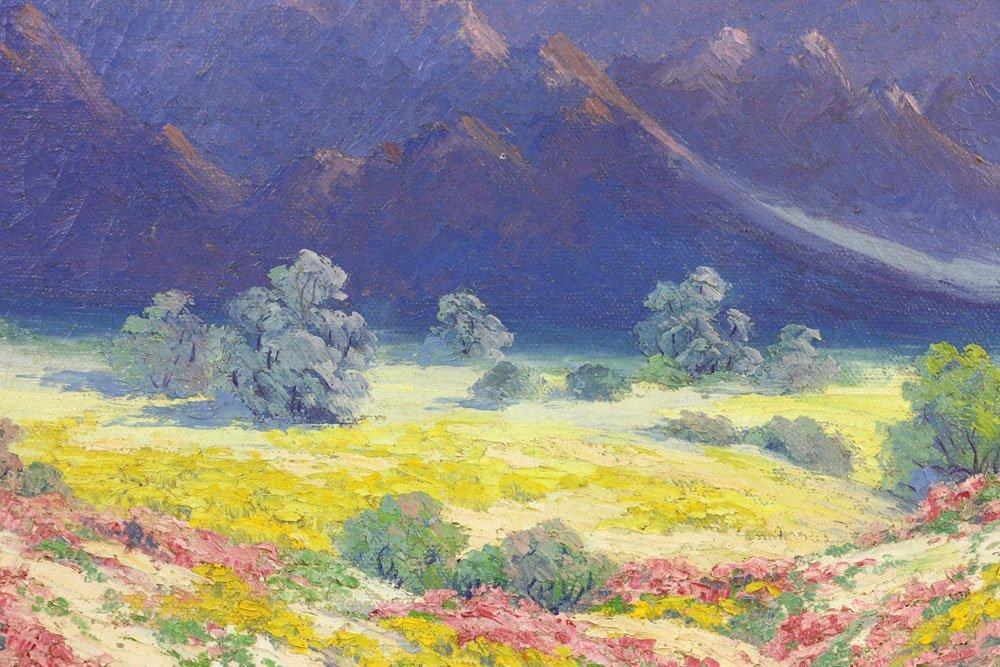Californian Landscape, Oil on Canvas - 5
