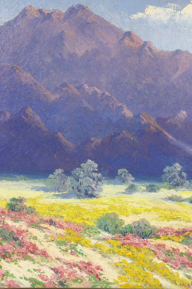 Californian Landscape, Oil on Canvas - 6