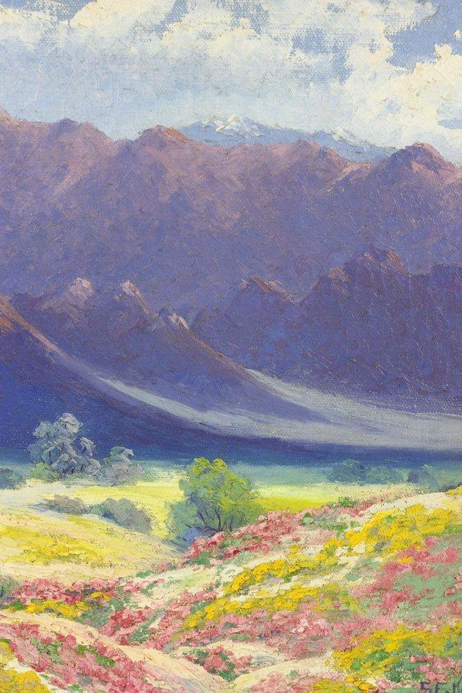 Californian Landscape, Oil on Canvas - 7