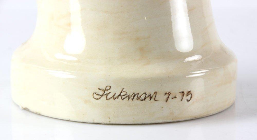 "Glasgow, ""The Swimmer,"" Ceramic - 4"