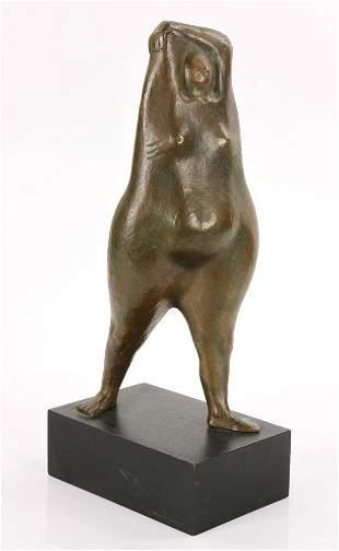 "Amaya, ""Mujer Parada,"" Bronze"