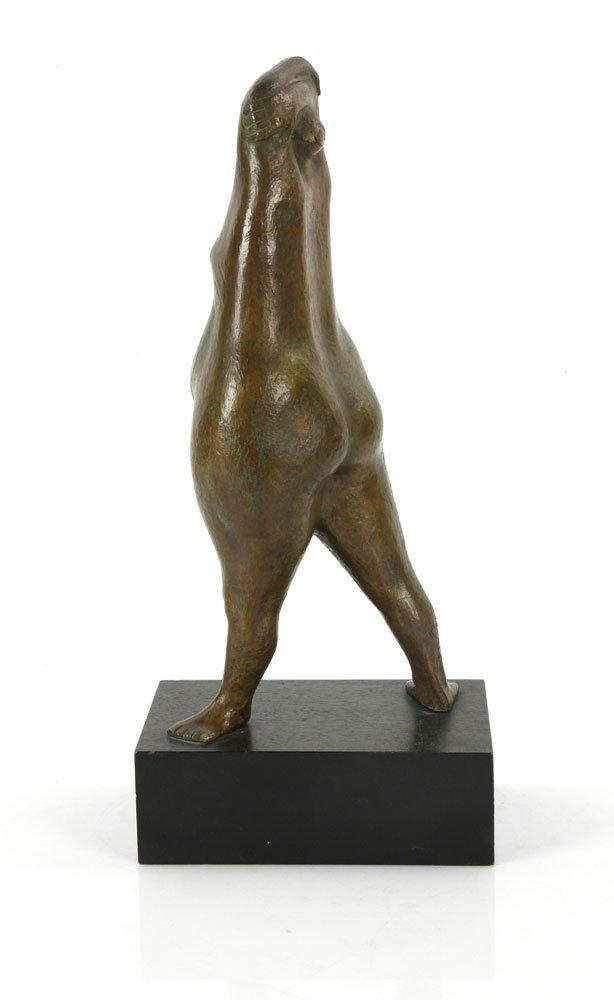 "Amaya, ""Mujer Parada,"" Bronze - 4"