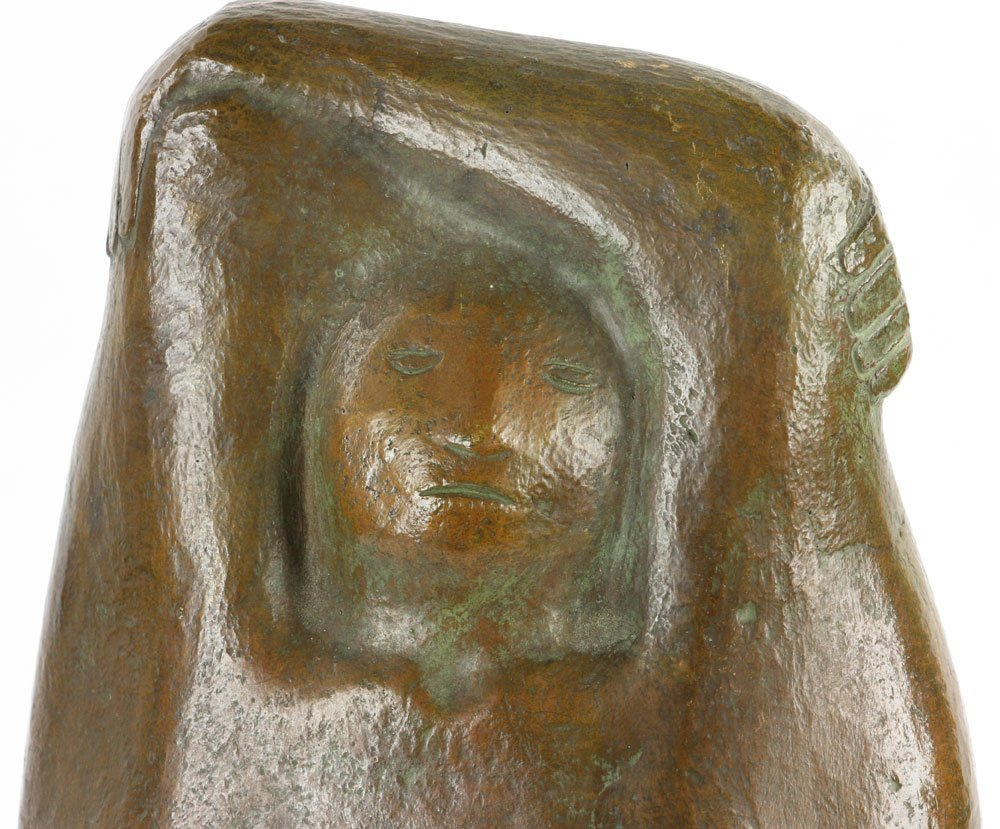"Amaya, ""Mujer Parada,"" Bronze - 8"