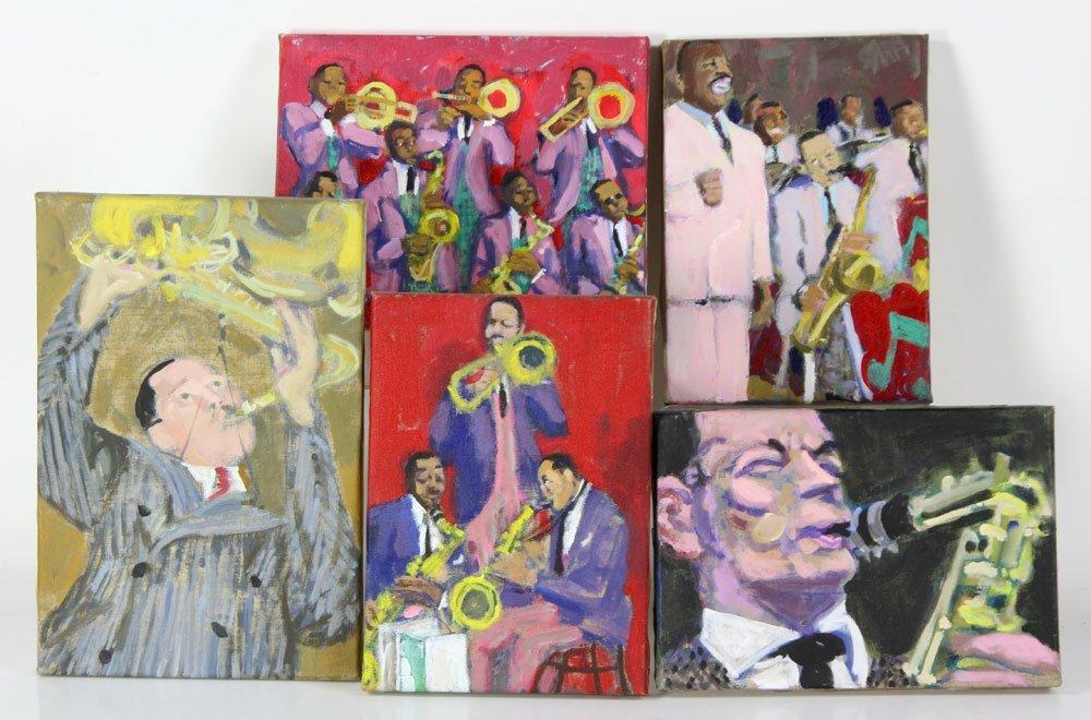 Zuka, Five Jazz Paintings