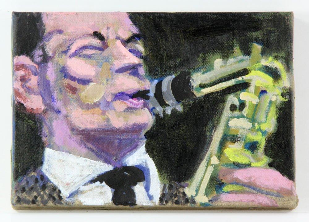 Zuka, Five Jazz Paintings - 3