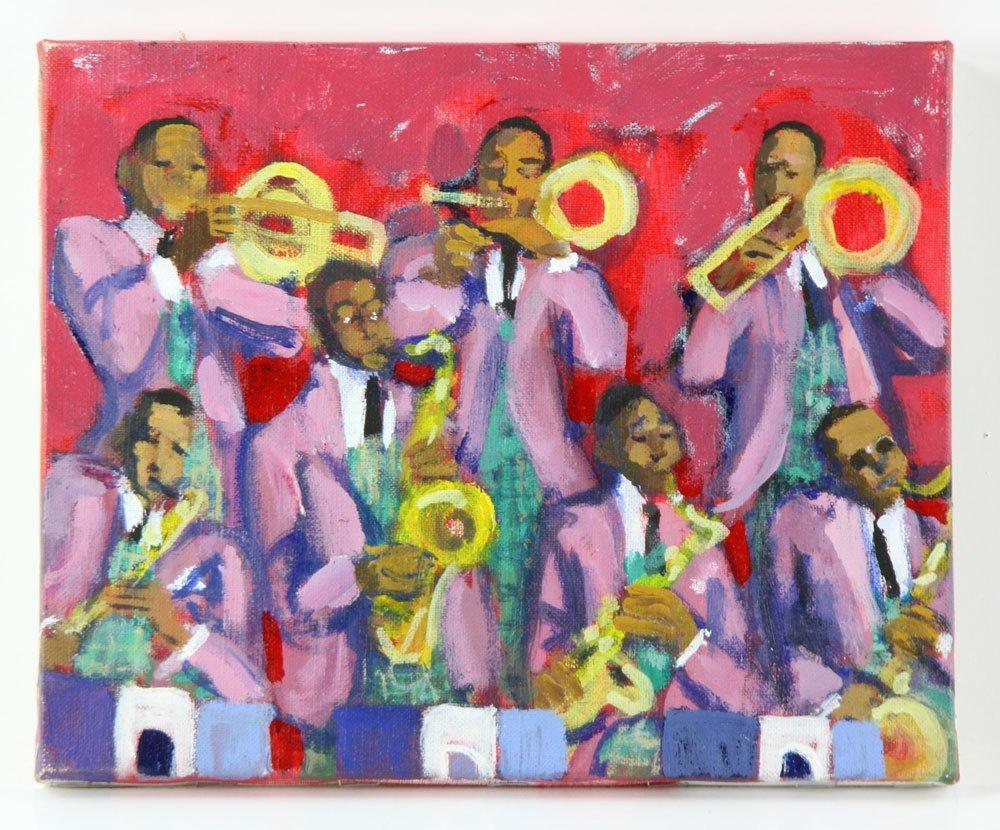 Zuka, Five Jazz Paintings - 4