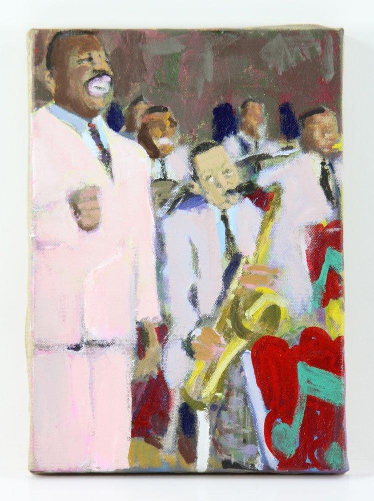 Zuka, Five Jazz Paintings - 5
