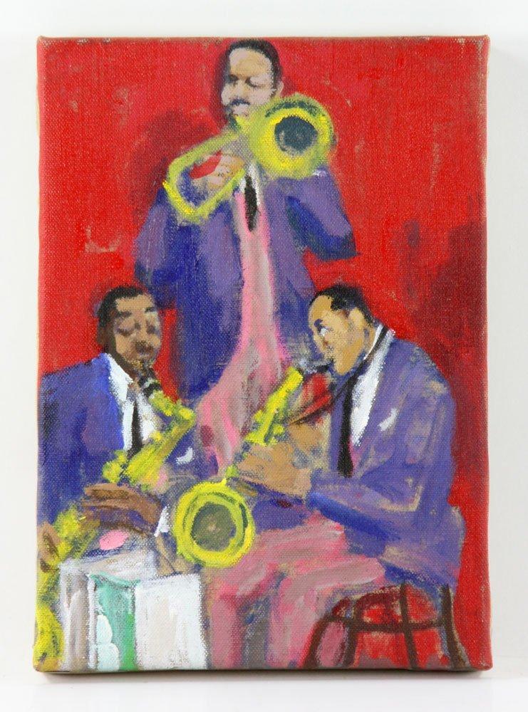 Zuka, Five Jazz Paintings - 6