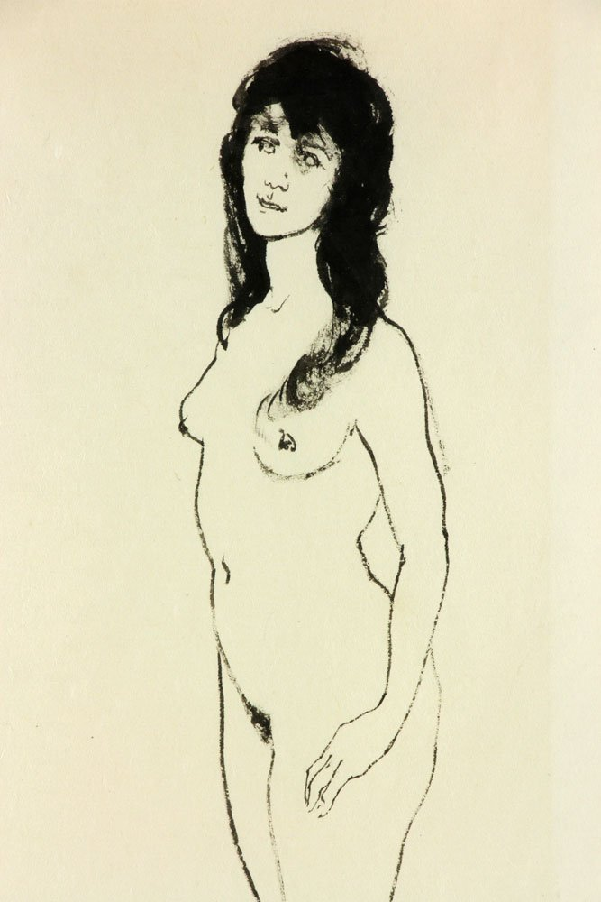 Keogh, Nude Couple, Ink on Paper - 6