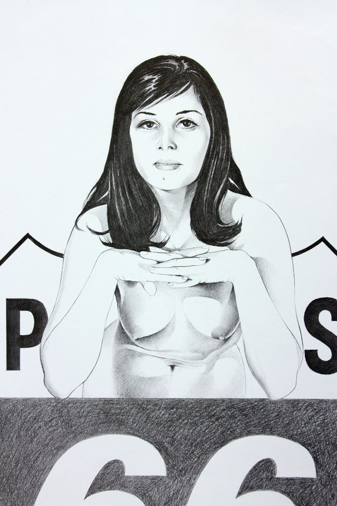 """Ramos, """"Miss Sixty Sixer,"""" Lithograph - 2"""