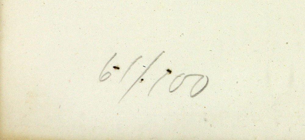 "Ramos, ""Peace,"" Lithograph - 5"