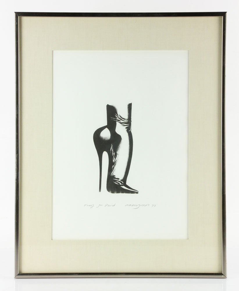 "Jones, ""Stiletto,"" Lithograph"