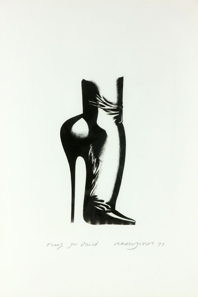 "Jones, ""Stiletto,"" Lithograph - 3"
