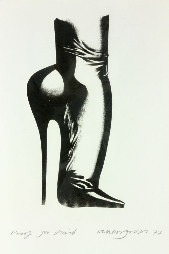 "Jones, ""Stiletto,"" Lithograph - 4"