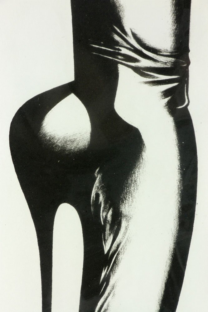 "Jones, ""Stiletto,"" Lithograph - 5"