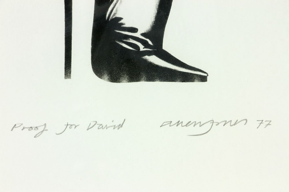 "Jones, ""Stiletto,"" Lithograph - 6"
