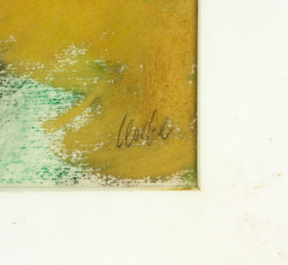George, Three Abstract Pastels - 8