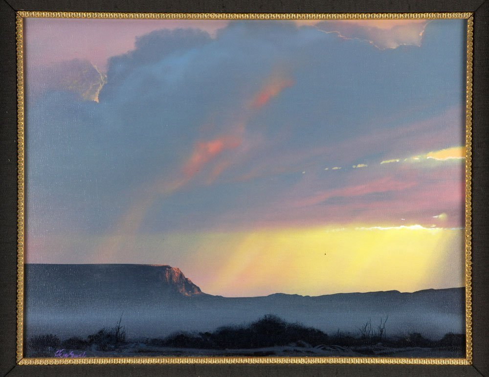 """Mesa Blessed by Light,"" Oil on Canvas - 4"