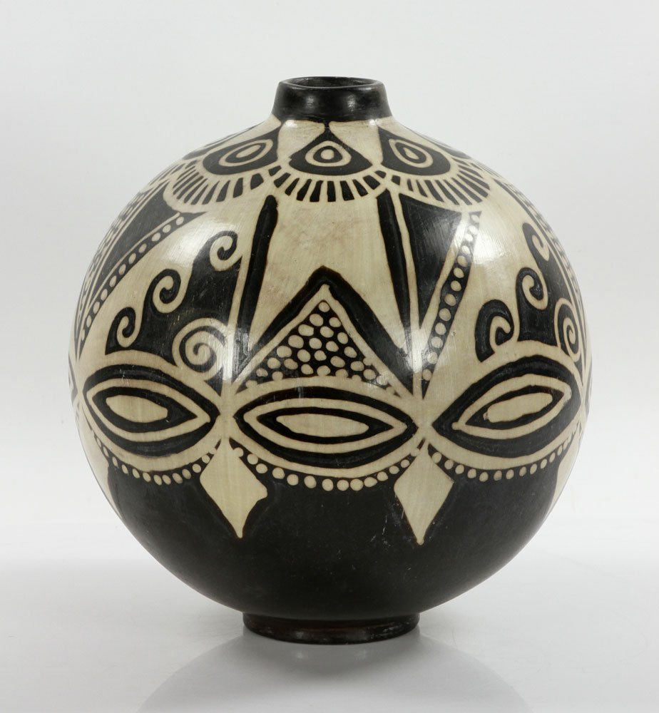Native American Pottery Vase - 2