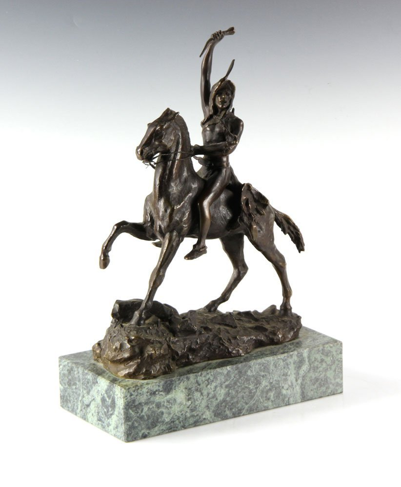 "Remington, ""The Scalp,"" Bronze"