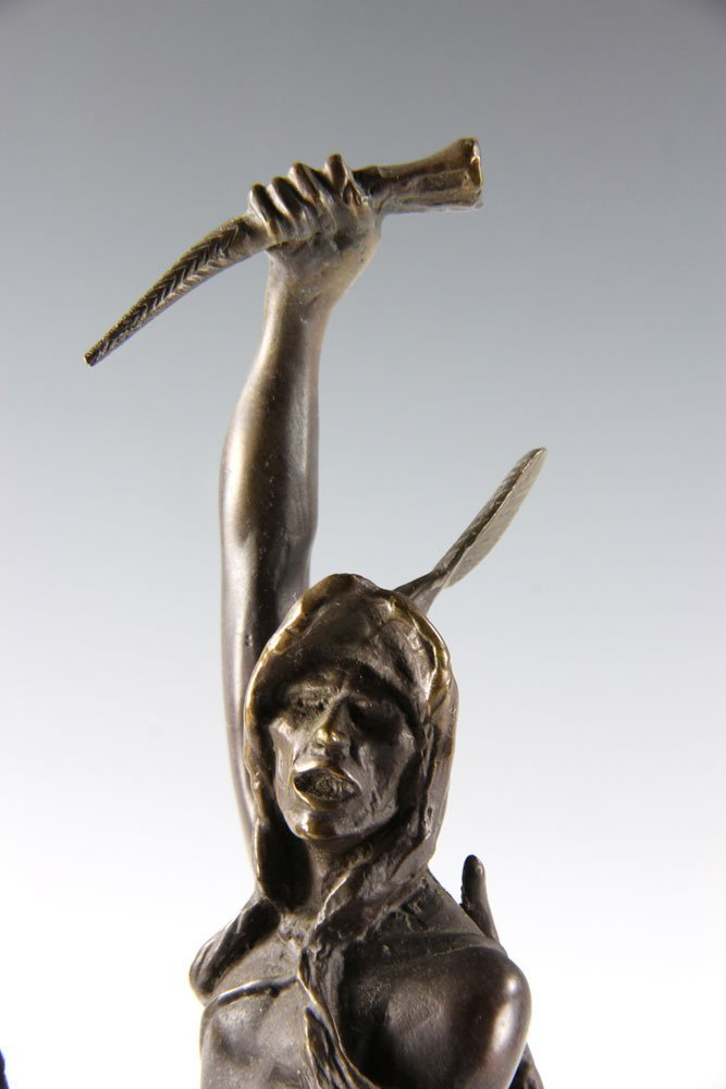 "Remington, ""The Scalp,"" Bronze - 6"