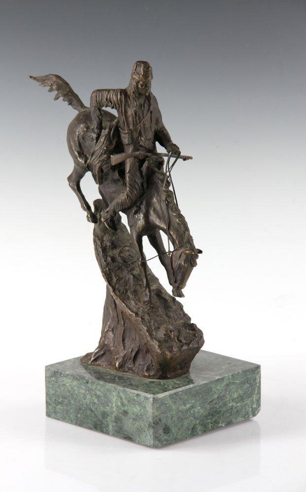 Remington Figural Bronze