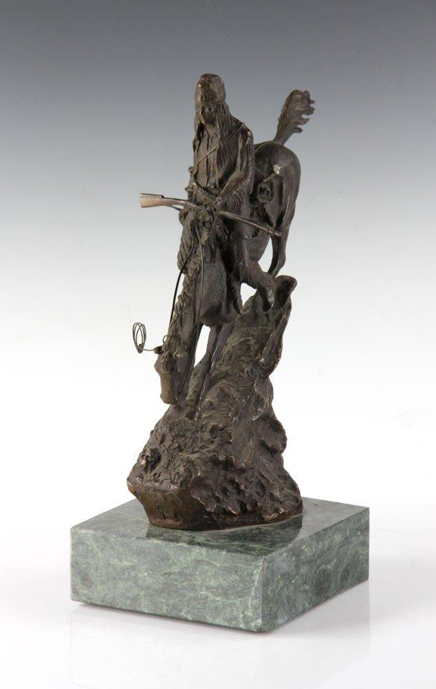 Remington Figural Bronze - 2